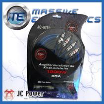 Kit De Instalacion Cables Calibre 8 Jc Power Jc-kit8 1200 W
