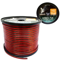 Cable Calibre 14 100mtrs Haden Para Woofers Mod.ksc-14