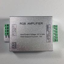 Amplificador Tiras Rollos Modulos Led Rgb Multicolor 12v 12a