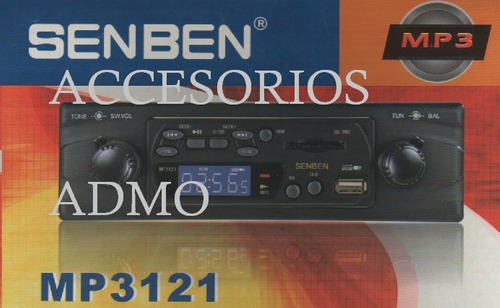 Auto Estereo Retro Usb Sd / Mmc Mp3 Fm No Mas Cd Mp3