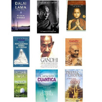 Pack Libros Ebooks De Gandhi,dalai Lama Y Depack Chopra