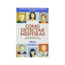 Libro Como Detectar Mentiras
