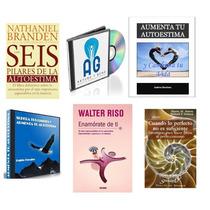 Pack Aumentar Tu Autoestima: Libros Pdf Y Audios Mp3