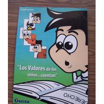Los Valores Delos Niños Cuentan-ilus-juan Cisneros-ed-gecica