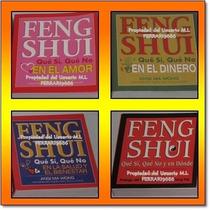 Feng Shui * 4 Libros Guias De : Salud Bienestar Amor Dinero