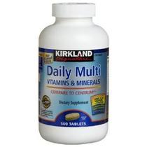 Kirkland Signature Daily Multi Vitaminas Y Minerales Tableta
