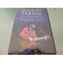 Dvd Joaquín Sabina Teatro Gran Rex