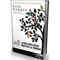 Libro Una Vida Con Propósito De Rick Warren Ed Ampliada T/d