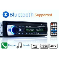 Estereo Coche De Bluetooth Fm Radio Reproductor De Audio Mp3