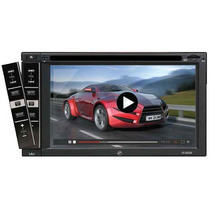 Autoestereo 2 Din Pantalla 6.5 Bluetooth Panel Anti-robo Msi