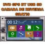 Estereo Pantalla Gps Dvd Bt Usb Sd 6.2 Touch 2 Din Nuevo