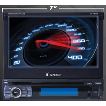 Estereo Pantalla Touch 7 Motorizada Retractil Bluetooth 1din