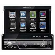 Autoestereo Dvd Pantalla Led Touch 7 Motorizada Bluetooth