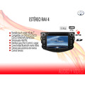 Stereo Tipo Original Toyota Rav 4 2012 Touch 7hd Dvd Mp3 Gps