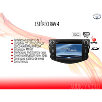 Stereo Tipo Original Toyota Rav4 2012 Touch 7hd Dvd Mp3 Gps