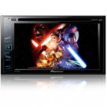 Pantalla Multimed Pioneer Avh-180dvd Ipod Dvd Usb Doble Din