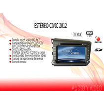 Stereo Tipo Original Civic 2012 Touch 7hd Dvd Mp3 Gps Gratis