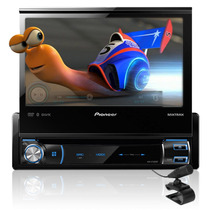 Pantalla Pioneer Avh-x7500bt Dvd Bluetooth Iphone Touch 2013