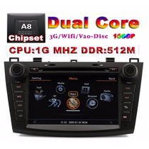 Estereo Mazda 3 Dvd Gps Mp3 Interface Ipod Usb Tv Camara Rev