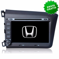Autoestereo Navegador Gps Honda Civic 2012 Pantalla Dvd Usb