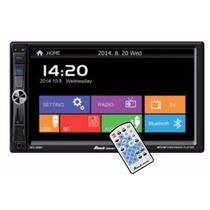 Autoestereo Doble Din Bluetooth Usb Sd Aux Pantalla 7
