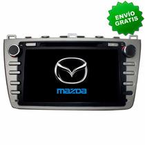 Autoestereo Navegador Gps Mazda 6 09-13 Pantalla Mazda6 Dvd