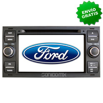 Navegador Gps Ford Focus Fiesta Transit 600cd Bluetooth Tv