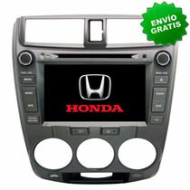 Autoestereo Navegador Gps Honda City 10-13 Pantalla Dvd Usb