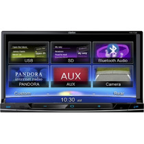 Clarion Nx702 2-din Dvd/gps/navi/usb/ipod/iphone/bluetooth