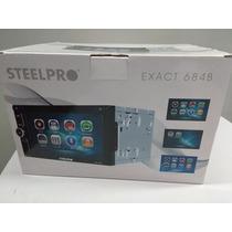 Estereo Steelpro Doble Din Con Bluetooh Y Tv Nuevo