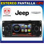 Estereo Pantalla Dvd Gps Bt Usb Nuevo Dodge Chrysler Jeep