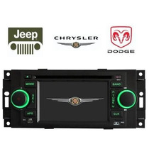 Estereo Chrysler Jeep Dodge Cruiser Caliber Ram Liberty 300c