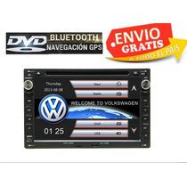 Estereo Pantalla Vw 7 Bluetooth Gps Dvd Jetta Clasico A4