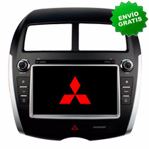 Autoestereo Navegador Gps Mitsubishi Asx Pantalla Dvd Usb Sd