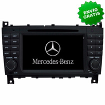 Autoestereo Navegador Gps Mercedes Benz C W203 W209 Pantall