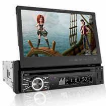 Auto Estereo De Pantalla 7 Dvd Bluetooth Usb Power Acoustik