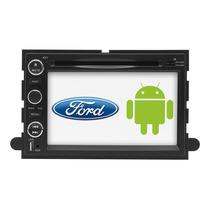 Ford Android Auto Estereo Navegador Gps Lobo Fusion Explorer