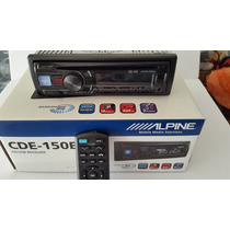 Auto Estereo Alpine Cde -150e Usb Aux Cd Mp3
