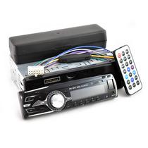 Auto Estereo 180 Watts Radio Fm Usb Sd Display Control 3228