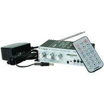 Amplificador Hi-fi Lepai Lp-a68 2x15w Remote/usb/mp3/sd/fm