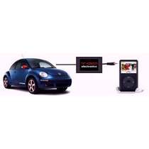 Adaptador Auxiliar Ipod Mp3 Vw Beetle, Jetta, Golf, Passat