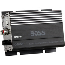 Boss Audio-car Audio/video Ce102 Mini Amp Alta Pot.100w 2c