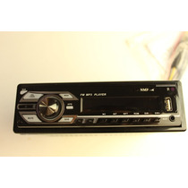 Auto Estereo 45wx4 Fm/usb/sd/mmc/mp3/aux Desmontable