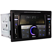 Autoestereo Doble Din Bluetooth Usb Sd Fm Aux