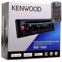 Estereo Kenwood Kdc-162u Cd,aux Frontal,usb,