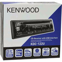 Auto Estereo Kenwood Usb Aux Mp3 Cd Kdc122u