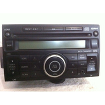 Autoestereo Original Nissan 6 Cds Mp3 Aux Tiida Versa March
