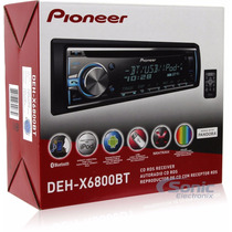 Autoestereo Pioneer Deh-6800bt Iphone Usb Colores