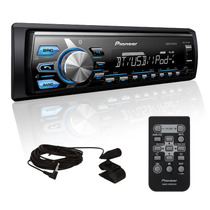 Autoestereo Pioneer Mvh-x370bt Ipod Bluetooth Aux Usb 2015