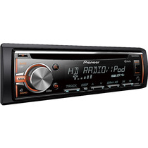 Autoestereo Pioneer Deh-x5800hd, Control Iphone, Hd Radio Cd
